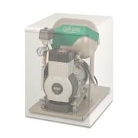 EKOM DK50-10 S - безмасляный компрессор со шкафом, без осушителя, для одной стоматологической установки (75 л/мин, 5 – 7 бар)