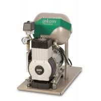 EKOM DK50-10 Z - безмасляный компрессор без шкафа, без осушителя, для одной стоматологической установки (75 л/мин, 5 – 7 бар)